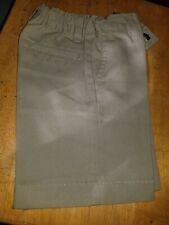 Boys Dickies Khaki School Uniform Shorts Size 5 Reg.