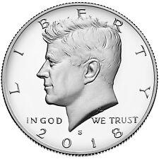 2018-S Silver 50C DC (Proof) Kennedy Half Dollar Deep Cameo Lowest Ebay