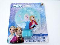 Disneys Frozen Princess Elsa & Anna Led Night Light Hallway Kids Bedroom New Fun