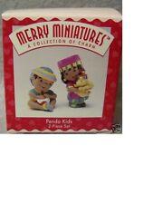 Hallmark Merry Miniatures 1996 Penda Kids African Kids Mib
