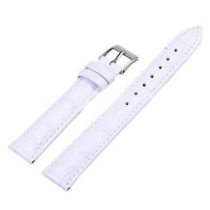 Adjustable Leather Watch Band Buckle Wristwatch Bands 12/14/16/18/20/22/24mm