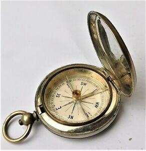 NO RESERVE WW1 Magnetic Compass Vintage Antique