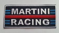 MOTOR RACING CAR SPEED FESTIVAL SEW ON / IRON ON PATCH:- MARTINI RACING (a)