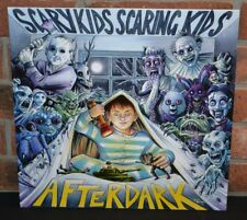 SCARY KIDS SCARING KIDS - After Dark, MIDNIGHT BLUE/CLEAR SPLATTER VINYL LP + DL