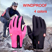 Men Waterproof Winter Sports Warm Thermal Ski Snow Motorcycle Snowboard Gloves