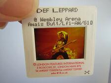 More details for original press photo slide negative - def leppard - steve clark ? - 1990's - c