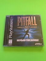🔥 PS1 PlayStation 1 PSX GAME 💯 COMPLETE WORKING GAME 🔥 PITFALL 3D 🔥