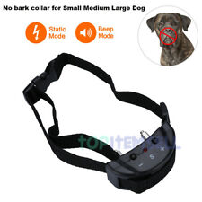 Anti Barking No Bark Dog Training Sound/Static Shock Collar for Small Medium Dog