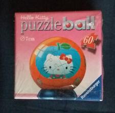 Hello Kitty Puzzle Ball 60 pièces 7cm Neuf Modèle 1 Ravensburger