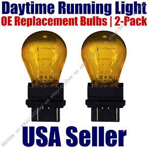 Daytime Running Light Bulbs 2pk OE On Listed Dodge Models - 3457NA/3357NA