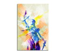 90x60cm PAUL SINUS Splash Art Gemälde Kunstbild Justicia_I Mehrfarbig