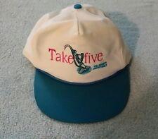 Take Five Kreepy Krawly Trucker Baseball Hat Cap Pool Cleaner Z-Vac White/Blue