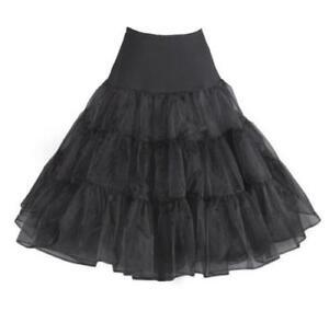 """RULTA UK Vintage Petticoat 26"""" Retro Underskirt 50s Swing Net Skirt Rockabilly O"""