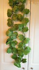 Joblot of 24 Silk Green leaf foliage Garland Decorations - wholesale type H