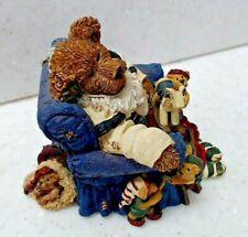 Jolly Ol' Saint Snoozen with Jingle, Jangle, Tinker & Shush. Lil Helpers-Boyd's