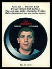 1968-69 OPC O PEE CHEE Puck Sticker Insert 11 NM Lou Angotti Pittsburgh Penguins