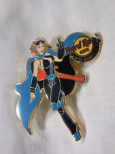Hard Rock Cafe Santo Domingo Hero Girl '11 Pin