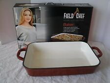 FIELD CHEF Home Collection Baker 5-Quart Enameled Cast Iron