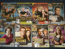 STARGATE SG.1 Magazine: Jack O'Neil, Michael Shanks,Atlantis,SGU Universe!Carter