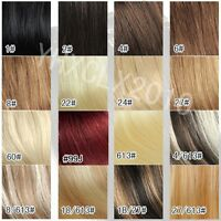 15'' Full Set 100% Human Hair Clip In Extensions Remy Hair AAA Quality 7pcs Set