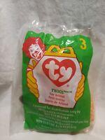 Ty McDonalds Teenie Beanie Babies 1998 MEL Twigs the Giraffe