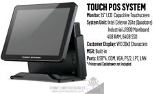 POS system - touchscreen - Intel J1900, Celeron Quad Core 2.0ghz, 4GB, 64GB SSD
