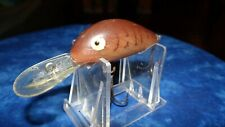 VINTAGE REBEL SUPER R TOUGH COLOR LURE OLD FISHING LURES CRANKBAIT BASS PLUG WOW