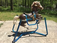 Rare Vintage Spring Rocking Horse