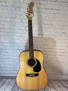Fender Concord Right-Handed Acoustic Guitar  -Korea - Read