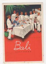 Bali Restaurant, Amsterdam Advertising Postcard, B382