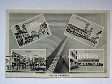 Saluti da CASARSA vedutine Pordenone vecchia cartolina