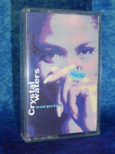 CRYSTAL WATERS Surprise RARE AUDIO CASSETTE TAPE Polygram 1991 Pop House Dance