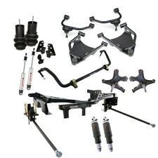 Ridetech Air Suspension Kit,1988-1998 C1500 Pickup,3 link,Control Arms,Shocks