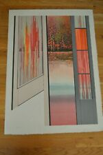 """Rolland Golden """" Parc Mysterieux """" Original Lithograph Hand Signed & Numbered"""