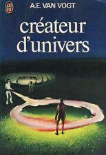 Createur d'univers.Alfred E.VAN VOGT.Science Fiction SF22B