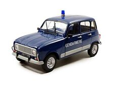 1 18 Solido Renault 4l Turbo Police 1962 Blue