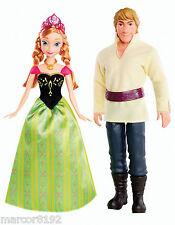 Disney Frozen Princess Doll Anna of Arendelle & Kristoff Doll set Damaged Box