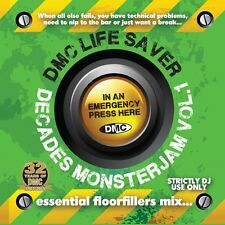 DMC Life Saver Decades Monsterjam Dance Party DJ CD Mixed By Allstar