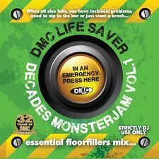 DMC Life Saver Monsterjam Decades Vol 1 Continuous Mixed DJ CD By Allstar