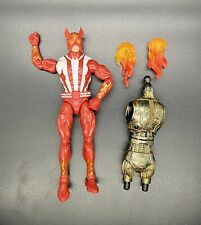 Marvel Legends Sunfire Loose w/ Accessories And Warlock Body BAF