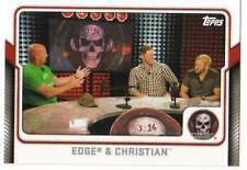 2017 Topps WWE Wrestling Stone Cold Podcast #3 Edge and Christian