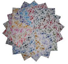 "75 4""  Whisper Calicoes Quilting Fabric Squares/ Georgeous/NEW ITEM!!"
