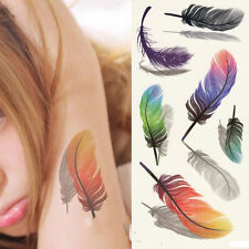 3d TEMPORARY TATTOO una volta Tatuaggio 19x9cm resistente all'acqua NEW COLLECTION (3d-0)