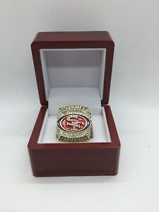 2019 San Francisco 49ers Jimmy Garoppolo NFC Championship Ring Set with Box