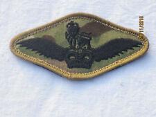 Army Air Corps piloto Wings badge, mtp, de velcro, multicam