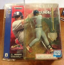 McFarlane MLB Series 1 Albert Pujols Rookie Gray Jersey Variant Figure Sealed