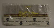 Allen-Bradley Fixed Resistors Rc20Gf394J Set Of 50 5% Tol 1/2 Watt 390 K Ohms