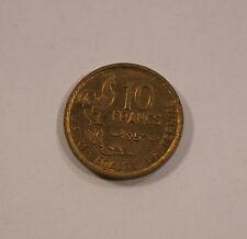 10 Francs Frankreich France 1957 Republique Francaise TOP! (C5)