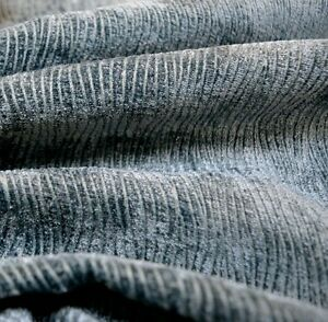 Teal Blue Textured Chenille Upholstery Current Teal Regal Fabric
