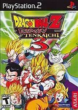 Dragon Ball Z: Budokai Tenkaichi 3 (Sony PlayStation 2, 2007) NO CASE